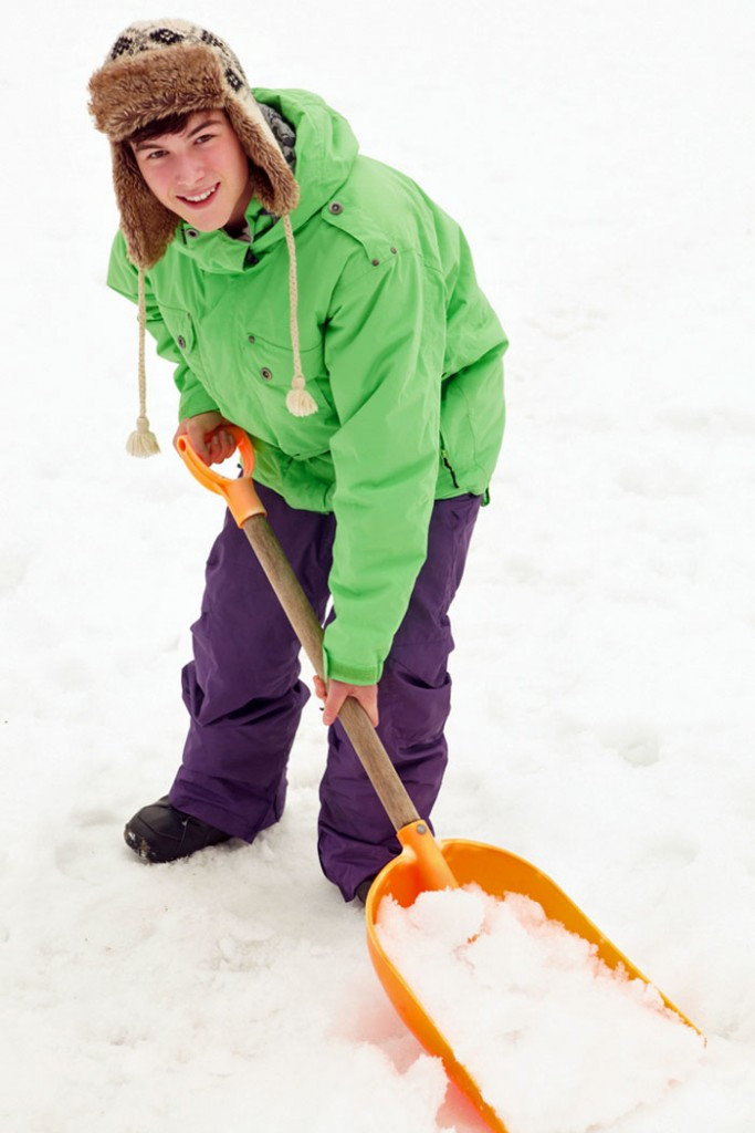 Funding Student Travel - Shovel Snow to Earn Student Travel Cost