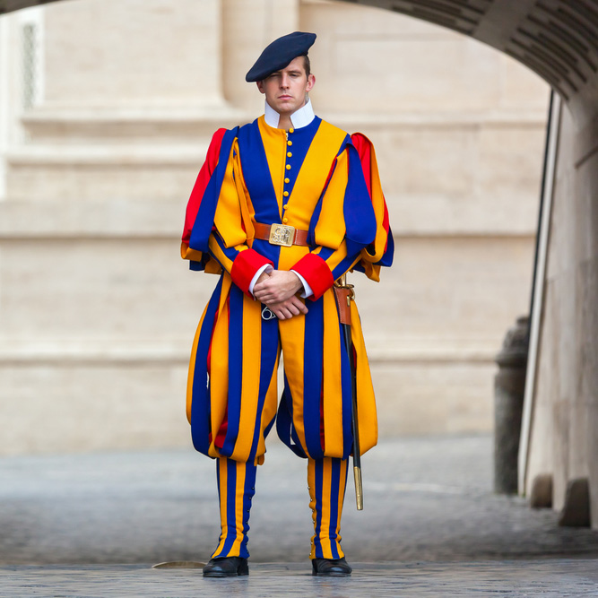 Cultural Immersion - Quo Student Travel - Swiss Guard